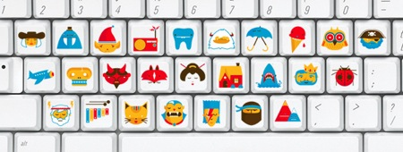 Funky keyboard