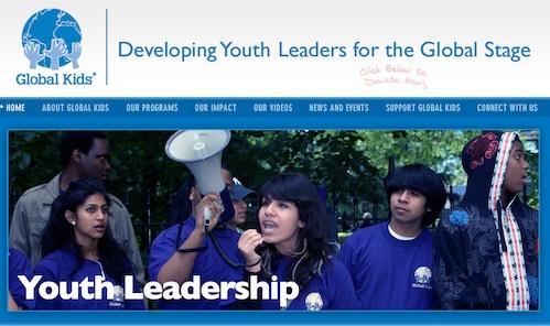Global Kids website 500