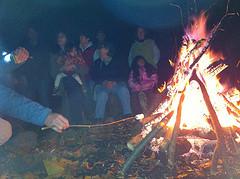 Bonfire quaker retreat