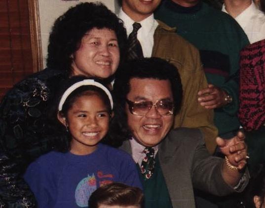 Christmas 1993 mom emily and oscar