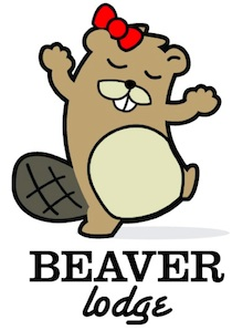 Beaver lodge logo