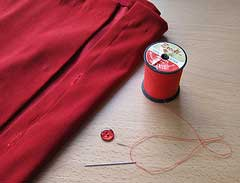 Mending-clothes-sewing