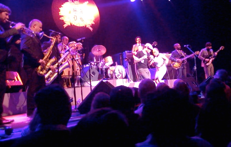Dancing with sharon jones at fillmore march 2014