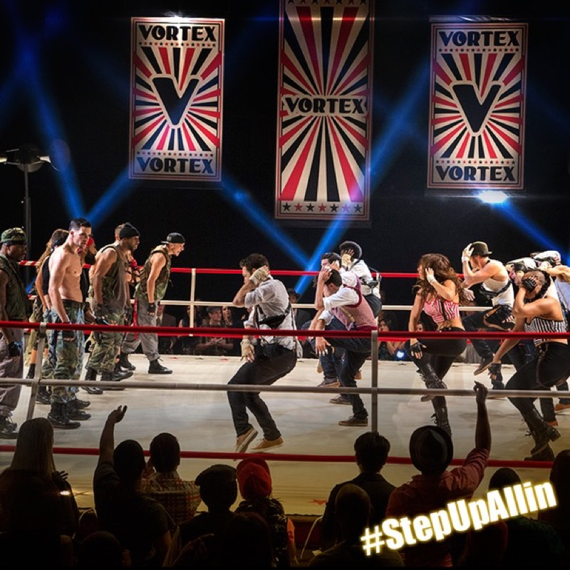Step up all in ring battle