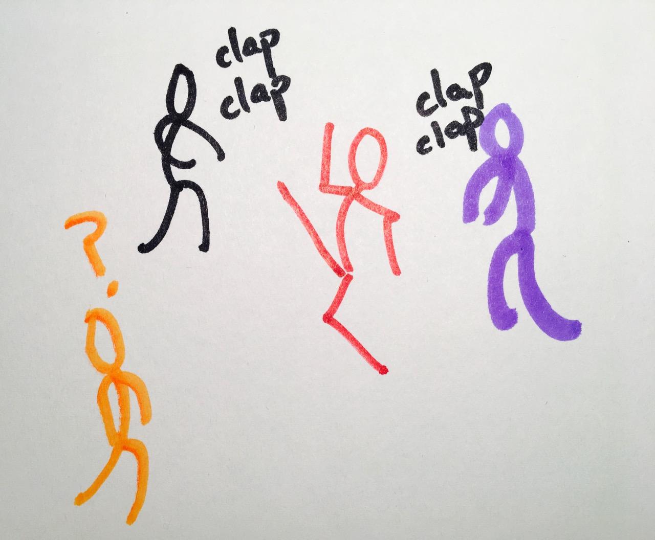 4 dancers