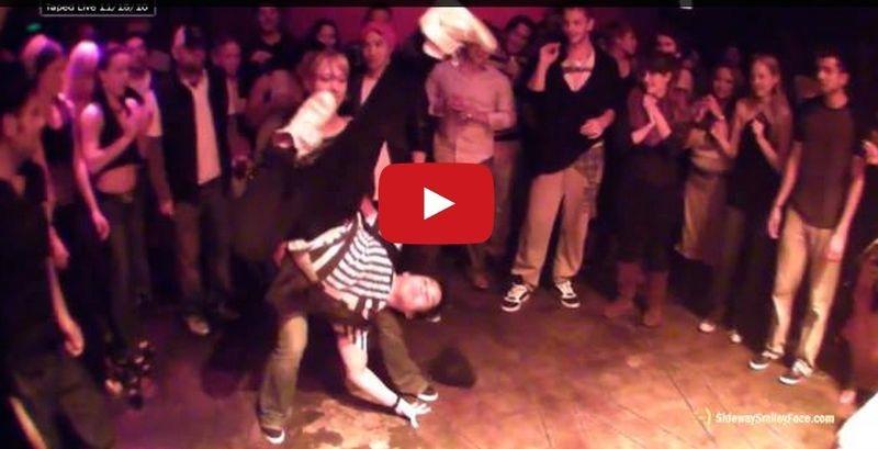 The floor video