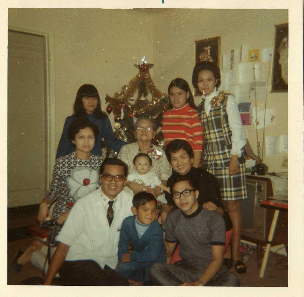 Family christmas 1971