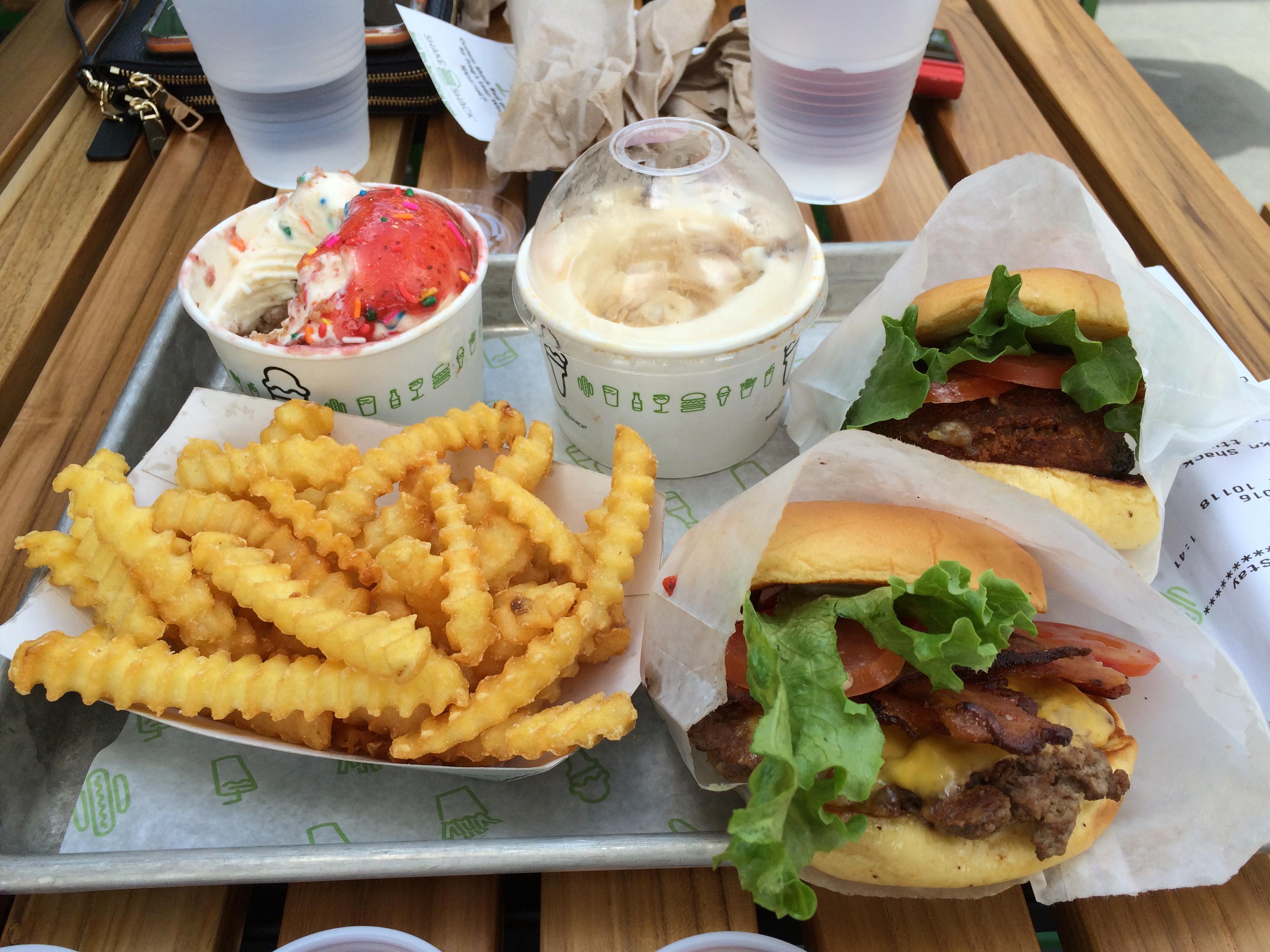 Shake shack meal