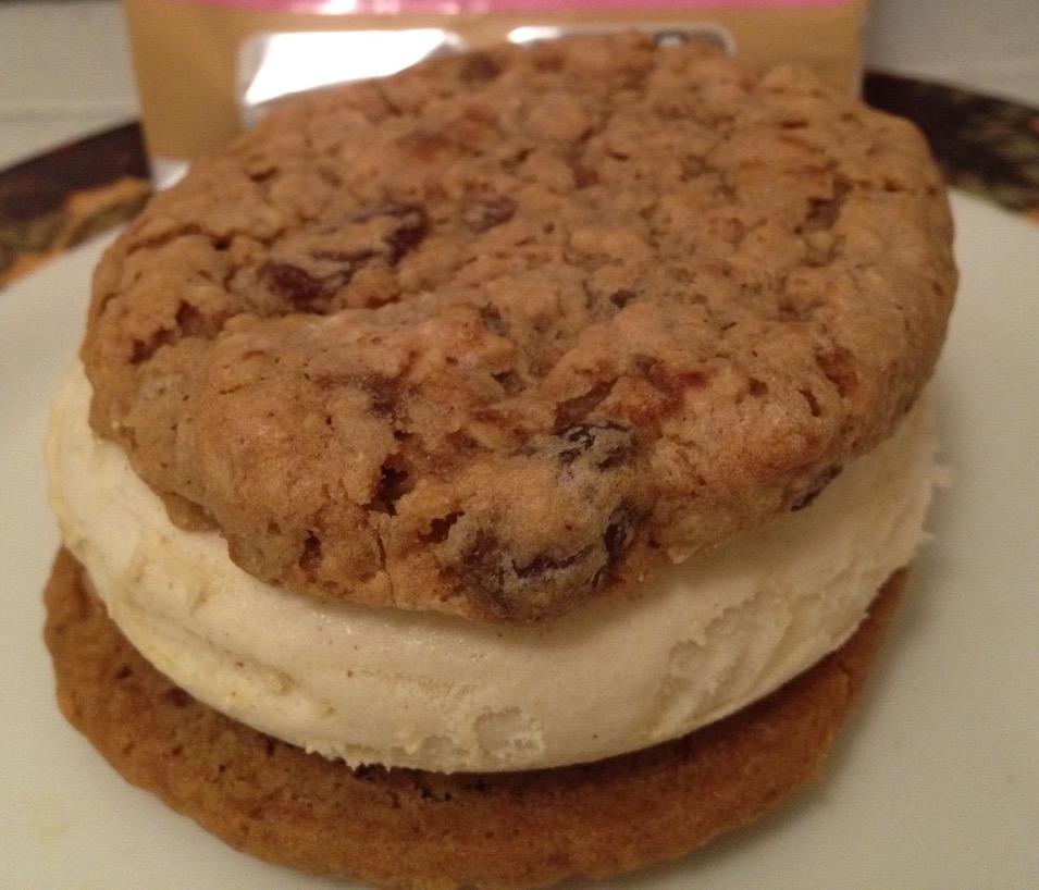 Renzo Apple Pie-ano Ice Cream Sandwich