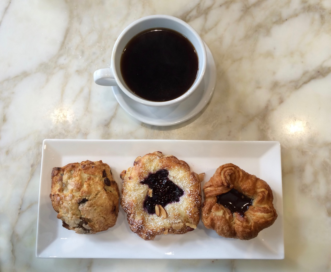 B pattiserie - scone, danish and kouign amman