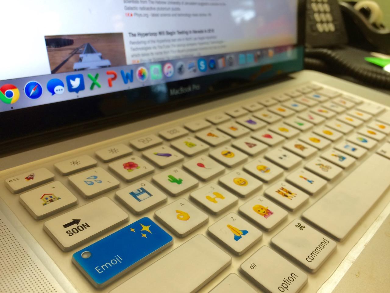 Emoji keyboard! 💾😎😢💩👗