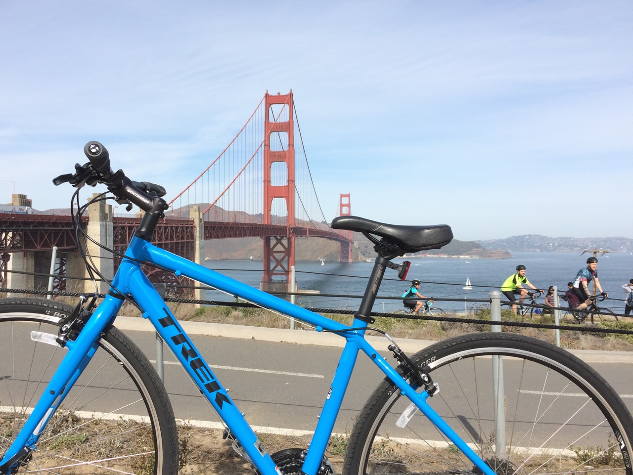 Trek at the Golden Gate Bridge