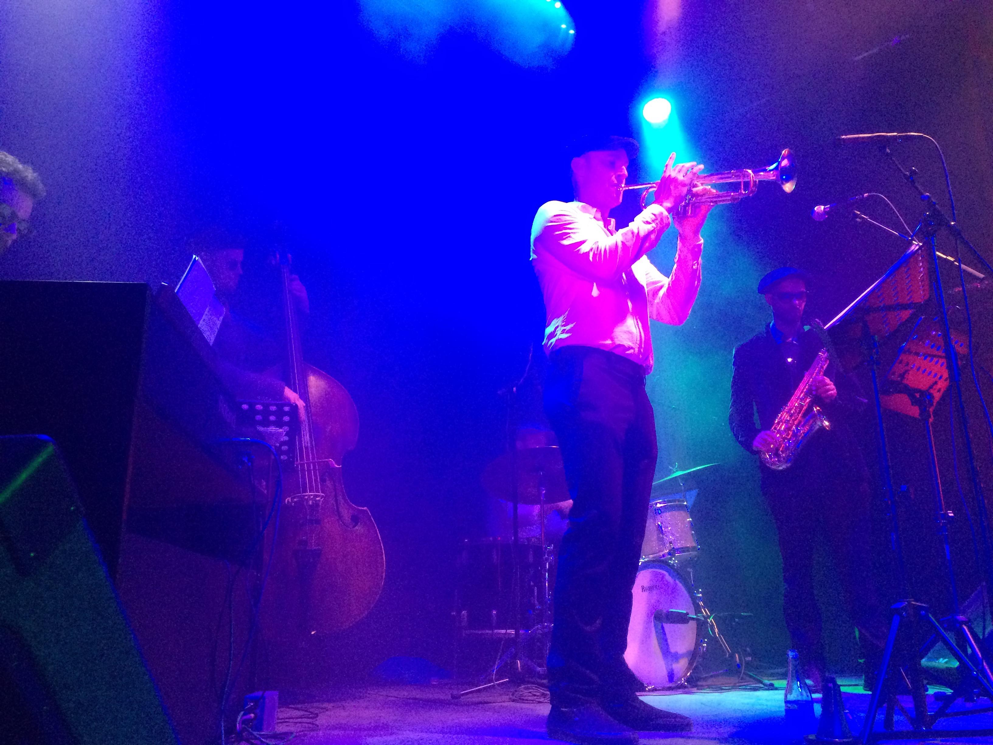 Bebop band at Herrang (2)