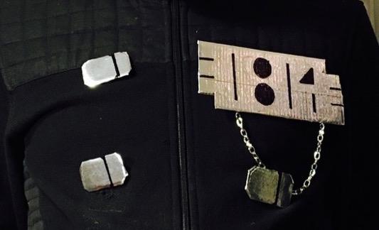 Janet costume chest medallion