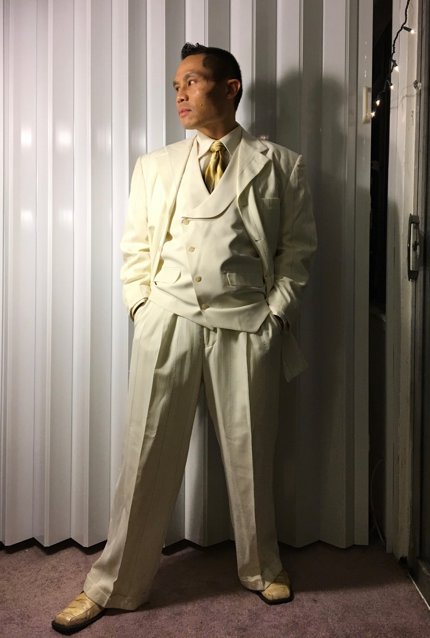 Pimp suit for black tie party