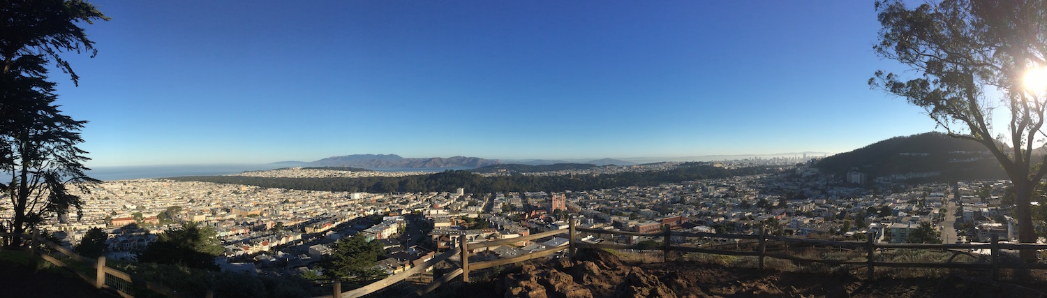 Panorama golden gate heights 1200