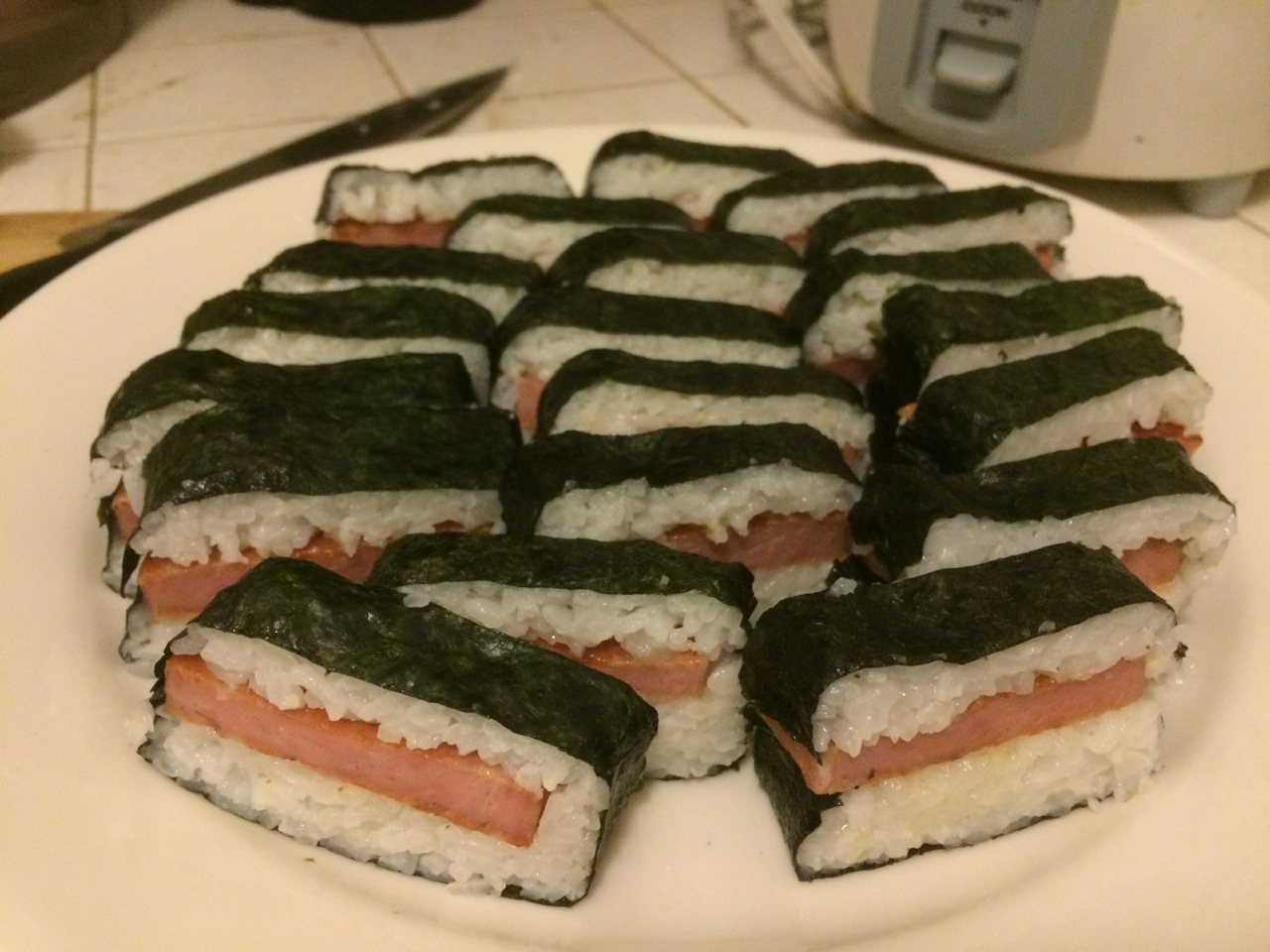 Spam musubis