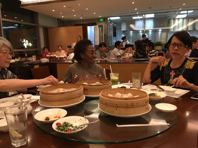 First dinner at Din Tai Fung
